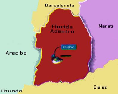 Florida Puerto Rico Mapa